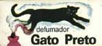 DEFUMADOR - GATO PRETO