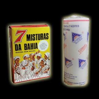 7 MISTURAS DA BAHIA + CANDELA 7 DIAS BIANCA