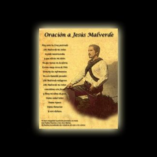 ORAZIONE DI JESUS MALVERDE - PERGAMENA
