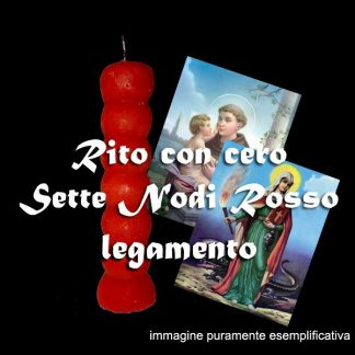 KIT SCONGIURO DEI SETTE NODI - LEGAMENTO