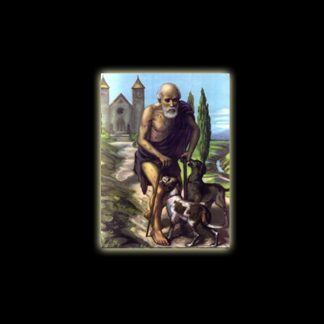 SAN LAZZARO - STAMPA SUBLIMATICA SU ALLUMINIO CM 20 X 15